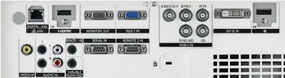 PT-EX800ze Projectors  connections