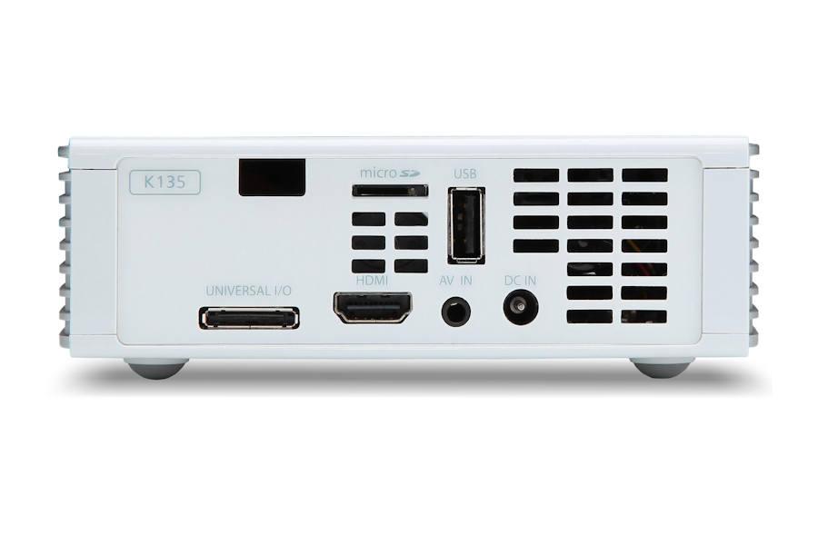 Acer K135 Projectors  connections