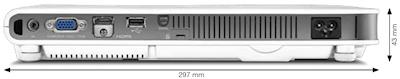 XJ-A257 Projectors  connections