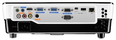 BenQ MW665 Projectors  connections