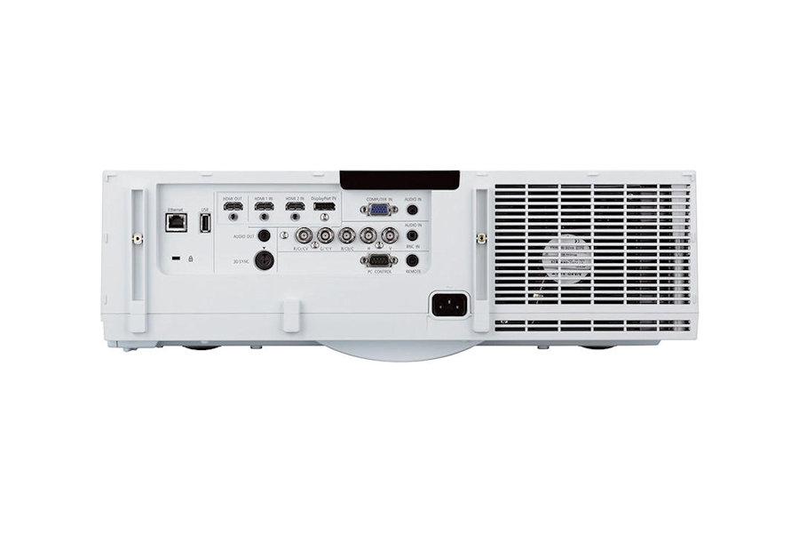 NEC PA621u Projectors  connections