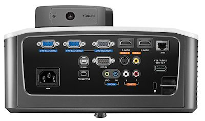 BenQ MW853ust+ Projectors  connections