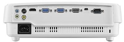 BenQ TW526 Projectors  connections