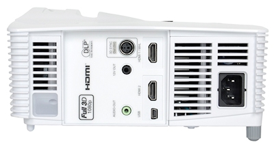 Optoma GT1080 Projectors  connections