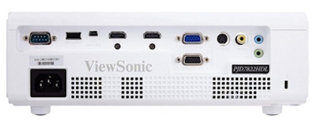 Viewsonic PJD7822hdl Projectors  connections