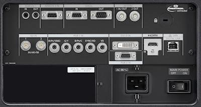 PT-DZ21k2 Projectors  connections