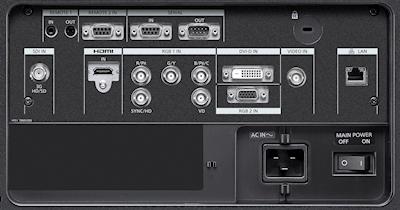 PT-DZ16k2 Projectors  connections