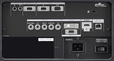 Panasonic PT-DW17k2 Projectors  connections