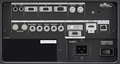 PT-DS20k2 Projectors  connections