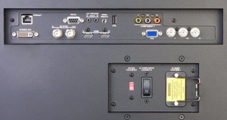 Digital Projection mVision 930wud Projectors  connections