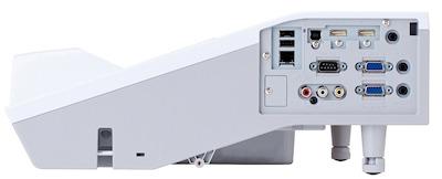CP-AX3005 Projectors  connections
