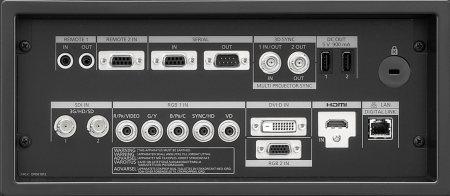 PT-RS30k Projectors  connections
