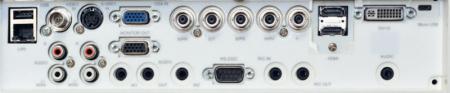 EIKI EK-500u Projectors  connections