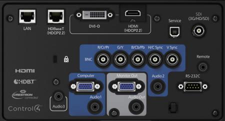 EB-L1505u Projectors  connections