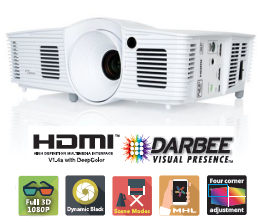 Optoma HD200d Projectors