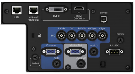 EB-G7000wnl Projectors  connections