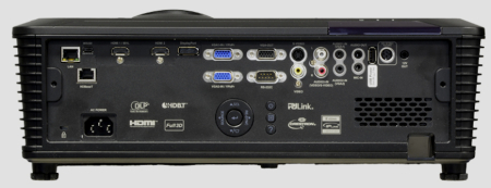 EIKI EK-601w Projectors  connections
