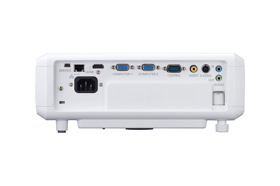 Canon LV-X320 Projectors  connections