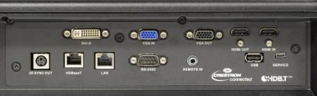 EIKI EK-620u Projectors  connections