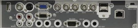 EK-510u Projectors  connections