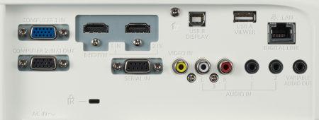 PT-VW545n Projectors  connections