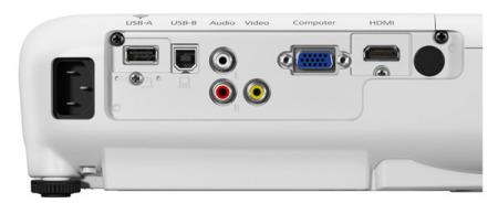 EB-X41 Projectors  connections