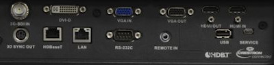 EIKI EK-815u Projectors  connections