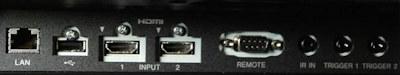 VPL-VW360es Projectors  connections