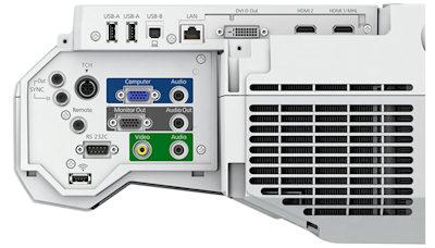 EB-1470ui Projectors  connections