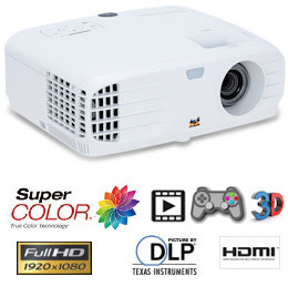 ViewsonicPX700hdProjector