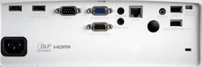 EH460st Projectors  connections