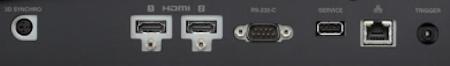 JVC DLA-NX9b Projectors  connections