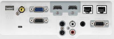 Panasonic PT-VMW50u Projectors  connections
