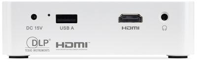 Acer C202i Projectors  connections