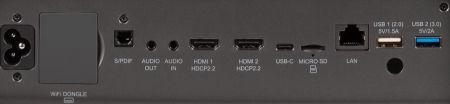 X10-4K Projectors  connections