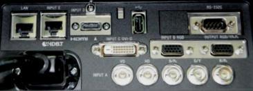 VPL-FHZ120 Projectors  connections