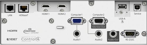 Epson EB-L610u Projectors  connections