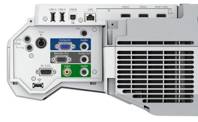 EB-710ui Projectors  connections