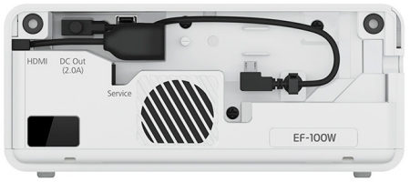 EF-100w Projectors  connections