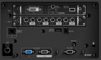 EB-L12000q Projectors  connections