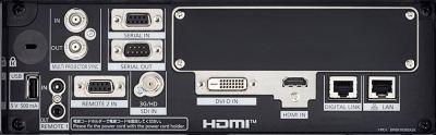 PT-RCQ10 Projectors  connections