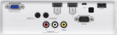 XJ-S400u Projectors  connections