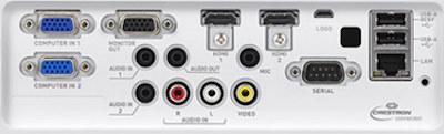 XJ-S400un Projectors  connections