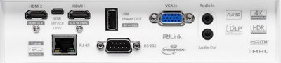 ZH403 Projectors  connections