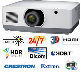 NEC NP-PA703ul Projector
