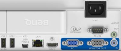 EW800st Projectors  connections