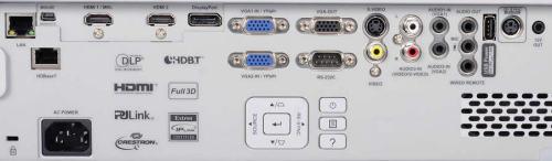 WU515tst Projectors  connections