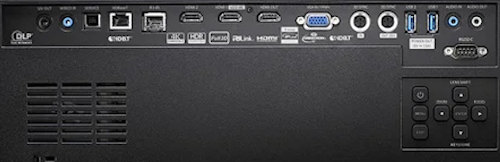 ZU720tst Projectors  connections