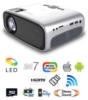 PhilipsNeoPix Easy 2+Projector