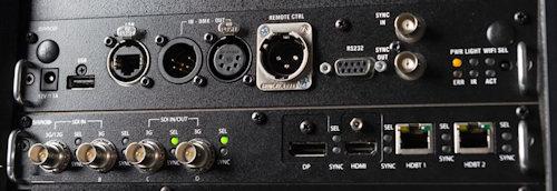 UDM-4K22 Projectors  connections